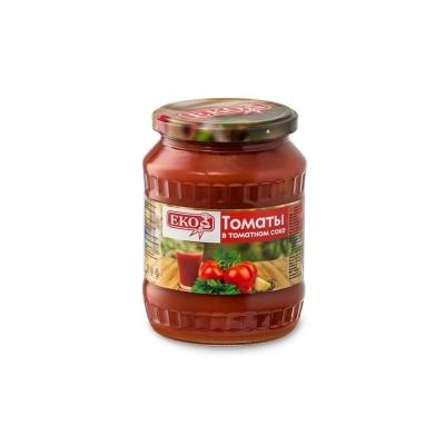 Томаты 'ЕКО' в томатном соке