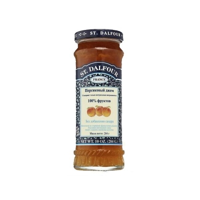 Джем 'St. Dalfour' Персик без сахара