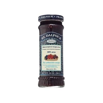 Джем 'St. Dalfour' Ассорти из 4-х ягод без сахара