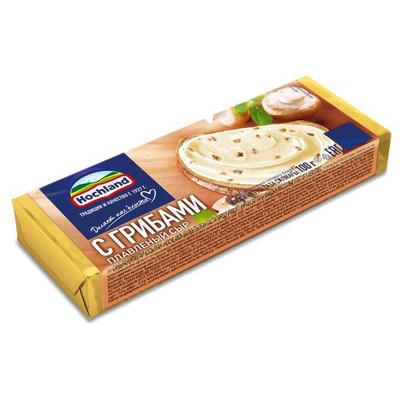 Сыр плавленый 'Hochland' с Грибами блочки