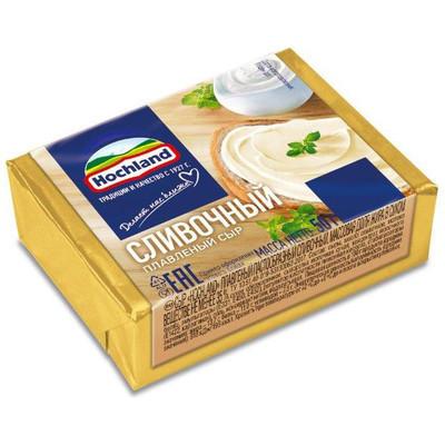 Сыр плавленый 'Hochland' Сливочный блочки