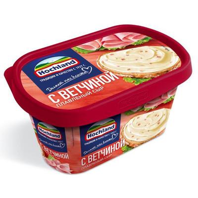 Сыр плавленый 'Hochland' с Ветчиной