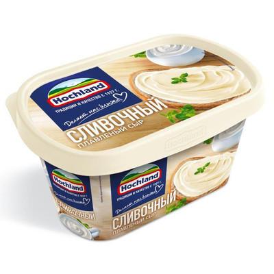 Сыр плавленый 'Hochland' Сливочный