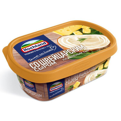 Сыр плавленый 'Hochland' Швейцарский сыр