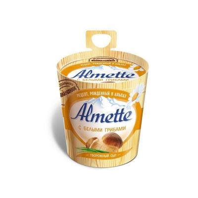 Сыр творожный 'Almette' с белыми грибами