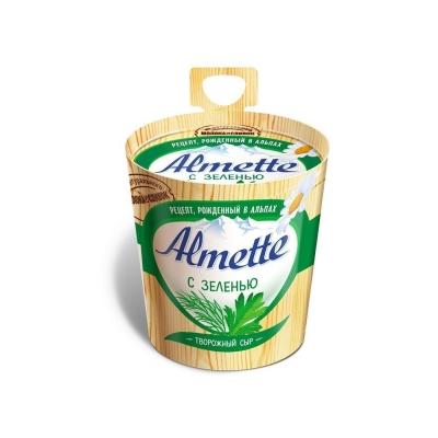 Сыр творожный 'Almette' с зеленью