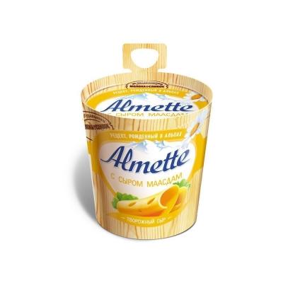 Сыр творожный 'Almette' с сыром Маасдам