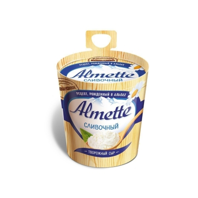 Сыр творожный 'Almette' сливочный