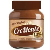 Паста Кремонте ореховая с добавлением какао 13% ореха бан. стекл.