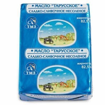 Масло 'Тарусское' 82,5%
