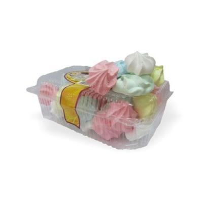 Пирожное Егорьевский Хлебокомбинат 'Воздушное Безе' цветное
