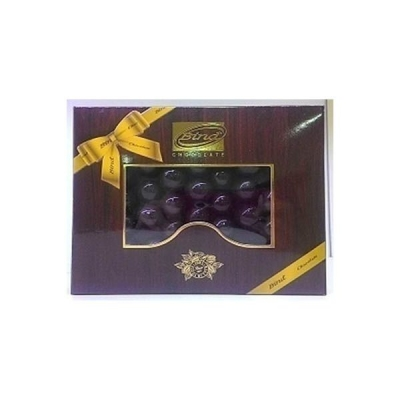 Драже 'Bind Chocolate' с фундуком покрытое темным шоколадом