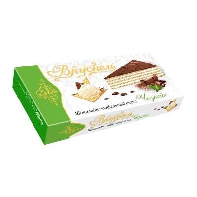 Торт шоколадно-вафельный 'Вкуснель' Чизкейк