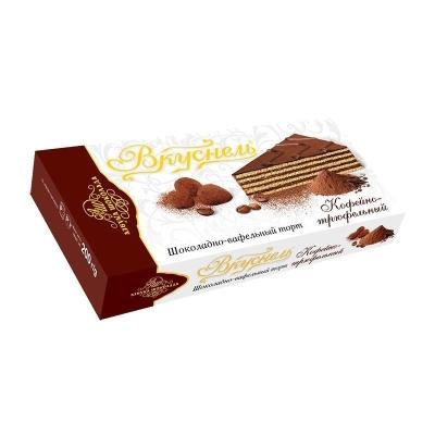 Торт шоколадно-вафельный