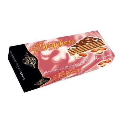 Торт шоколадно-вафельный 'Вкуснель' с Миндалём
