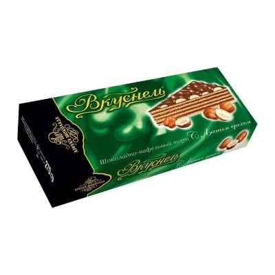Торт шоколадно-вафельный 'Вкуснель' с Лесным орехом