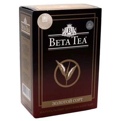 Чай Бета Чай черный Golden Selection картон