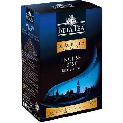 Чай Бета Чай черный Английский Лучший картон