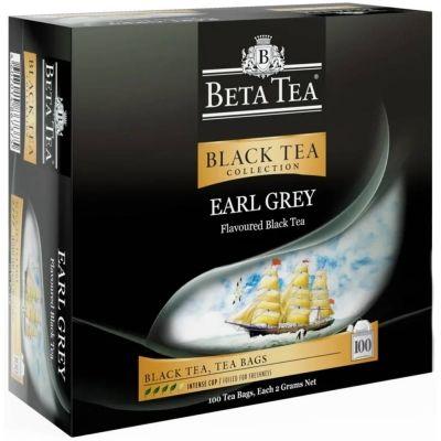 Чай Бета Чай черный Бергамот 100 пак.