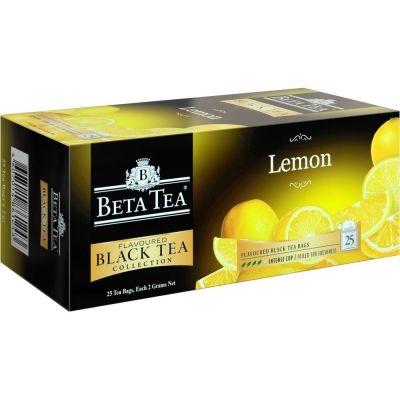 Чай Бета Чай черный Лимон 25 пак.