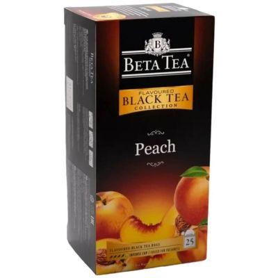 Чай Бета Чай черный Персик 25 пак.