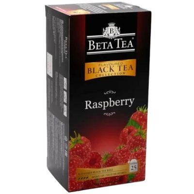 Чай Бета Чай черный Малина 25 пак.