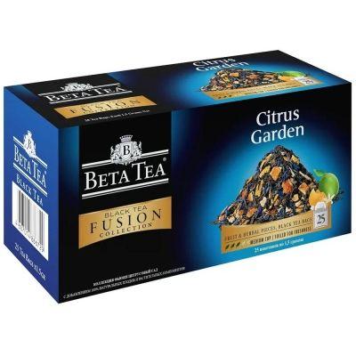 Чай Бета Чай черный Коллекция Фьюжен Цитрусовый сад 25 пак.