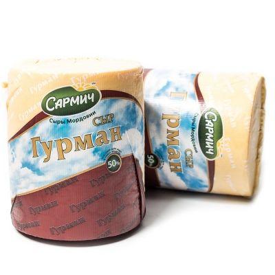 Сыр Сармич 'Гурман' 50%
