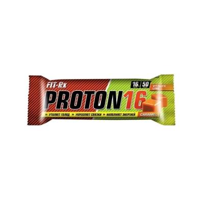 Батончики протеиновые 'FIT-Rx' Proton 16 карамель