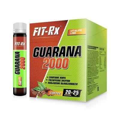 Напиток энергетический 'FIT-Rx' Guarana 2000 кофе