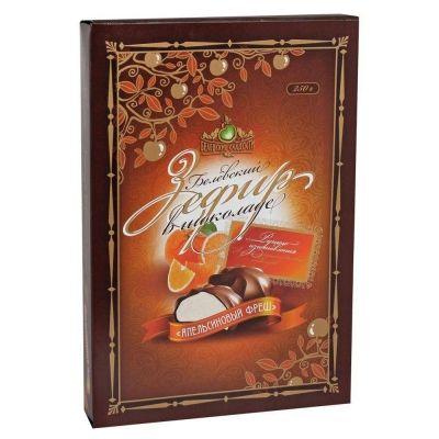 Зефир 'Белевский' в шоколаде Апельсиновый фреш