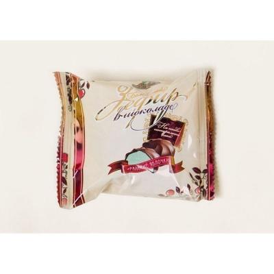 Зефир 'Белевский' в шоколаде Райские яблочки в индивидуальной праздничной упаковке