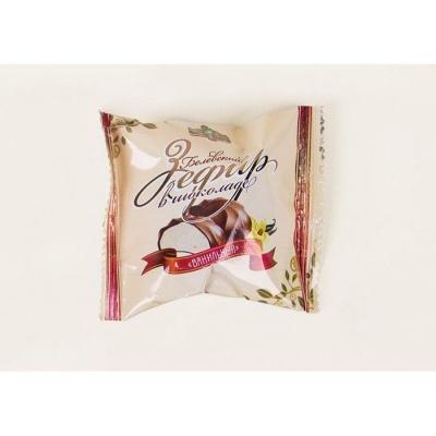 Зефир 'Белевский' в шоколаде Ванильный в индивидуальной праздничной упаковке
