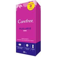 Салфетки ежедневные Carefree Plus Large Fresh ароматизированные 20шт