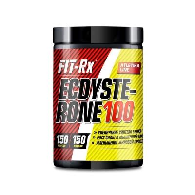 Препарат стероидный 'FIT-Rx' Ecdysterone 100 (100 mg of ecdysterone per capsule) 150caps