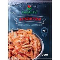 Креветки сырьевые LiViAnTa 7% глазурь, размер 70+