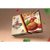 Шницель под красным соусом с картофельным пюре ГОСУДАРЬ замороженный