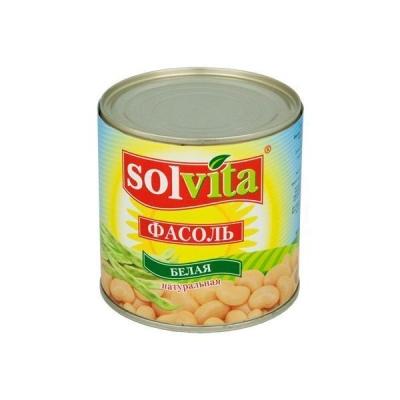 Фасоль 'Solvita' белая натуральная