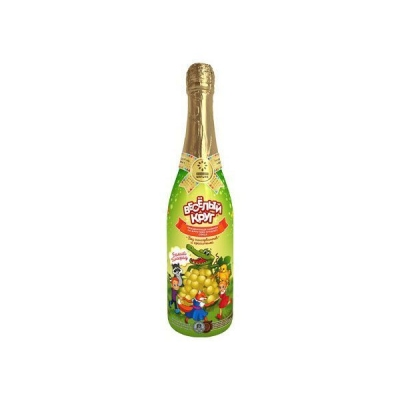 Напиток сокосодержащий газированный  'Веселый Круг' Белый Виноград