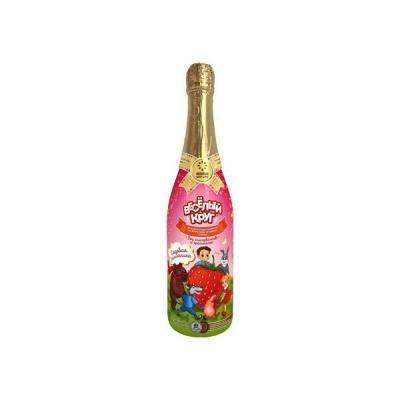 Напиток сокосодержащий газированный  'Веселый Круг' Садовая земляника