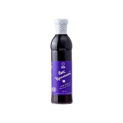Сок прямого отжима 'Absolute Nature' Premium 100% Черничный