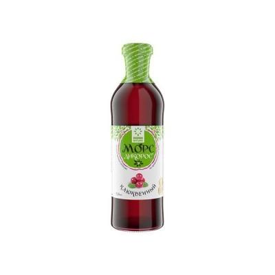 Морс ягодный из сока прямого отжима 'Дикорос' Клюквенный