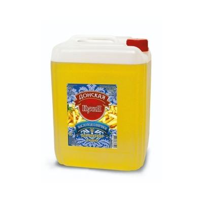 Масло подсолнечное 'Донская Кухня' для фритюра и жарки рафинированное