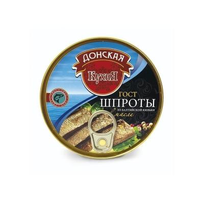 Шпроты из балтийской кильки 'Донская Кухня' в масле