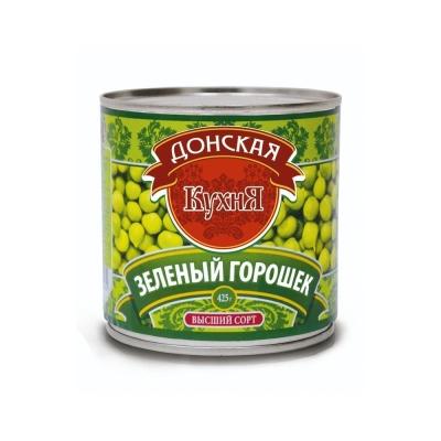 Зелёный горошек 'Донская  Кухня' ГОСТ