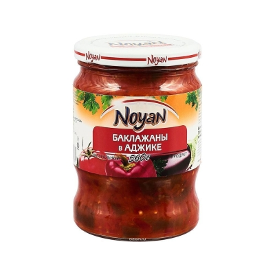 Баклажаны в аджике 'Noyan'