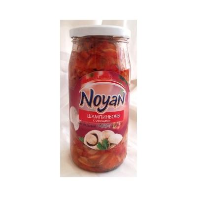 Шампиньоны с овощами 'Noyan'