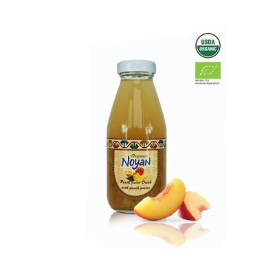 Напиток 'Noyan' Персиковый с кусочками персика органик