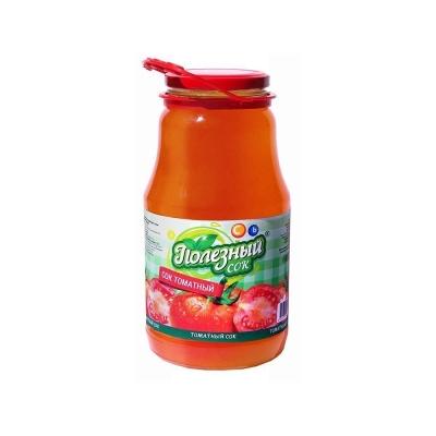 Сок восстановленный 'Полезный сок' Томатный с солью и мякотью