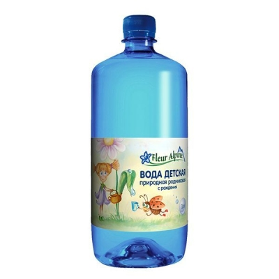 Вода детская питьевая 'Fleur Alpine' с рождения
